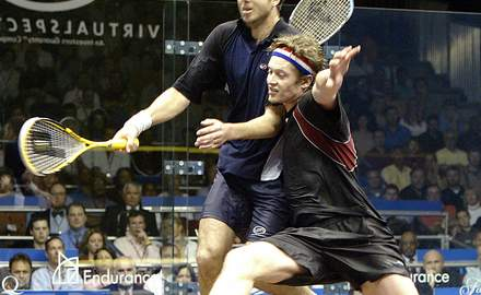 Watch world's best squash players