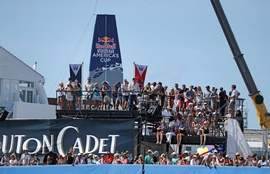 America's Cup fuels rise in retail sales