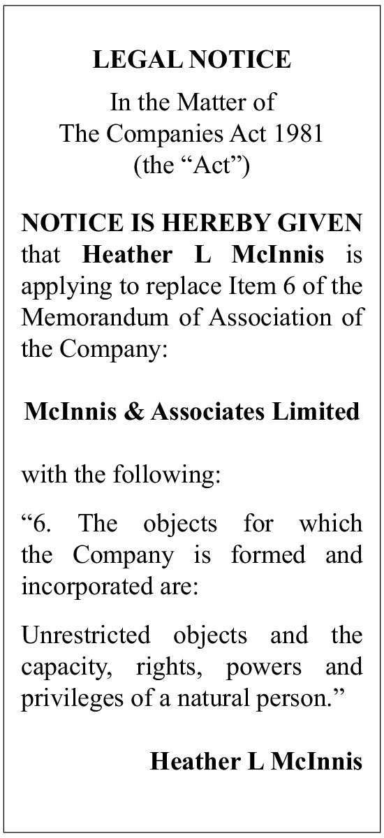 McInnis and Associates Limited