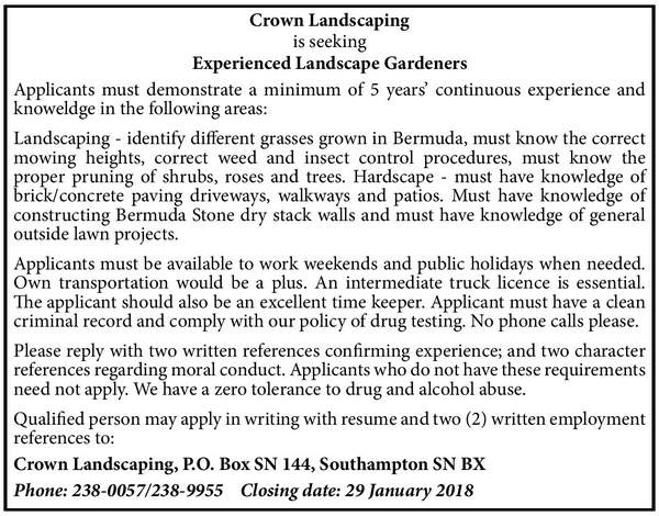 Experienced Landscape Gardeners