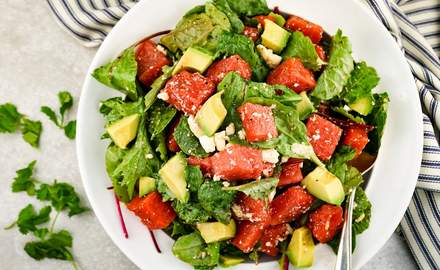 A perfect summer salad to get back on track