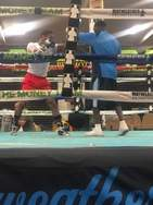 Bascome boxing clever under defensive master Mayweather