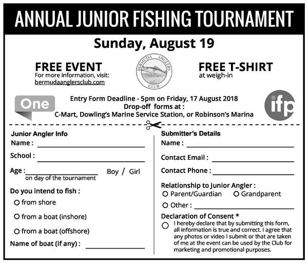 Annual Junior Fishing Tournament
